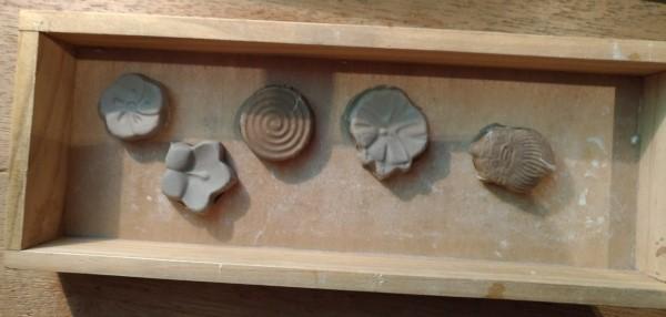 箸置き 粘土