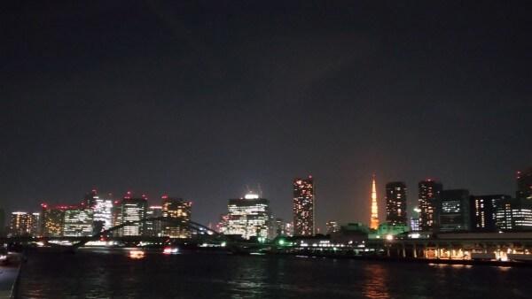 隅田川夜景
