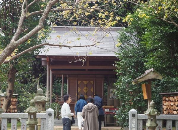 葛原岡神社 本殿 鎌倉