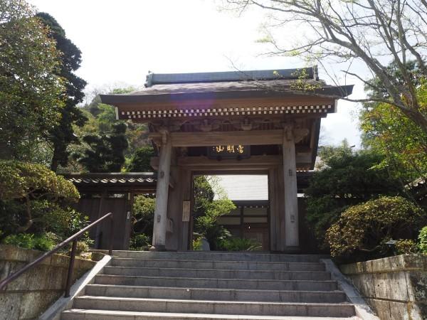 成就院の門 鎌倉