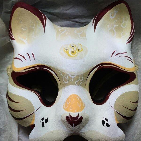 マスクフェス 猫面