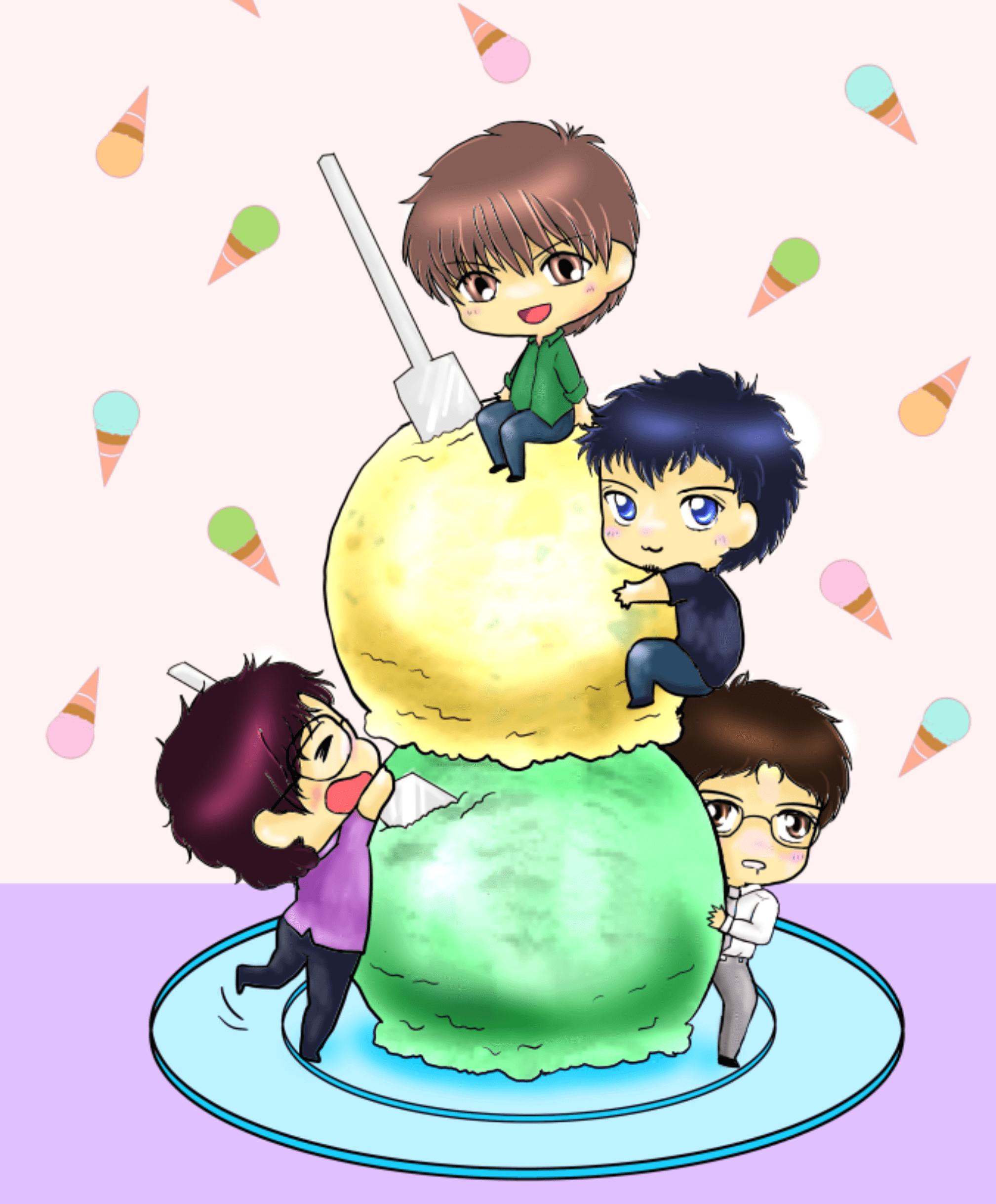 アイスクリームイラスト
