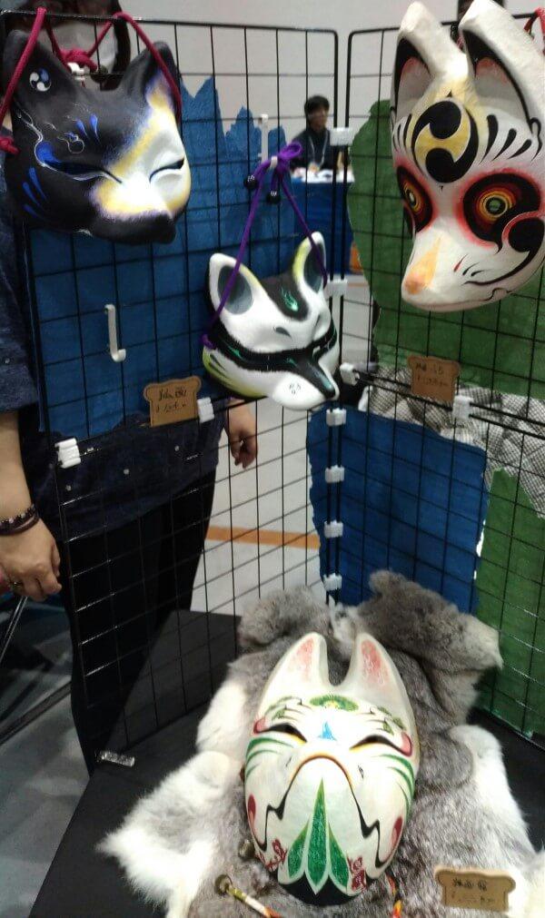 マスクフェス 狐面